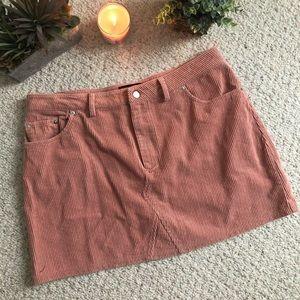 FOREVER 21 PLUS corduroy skirt